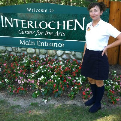 Erin at Interlochen